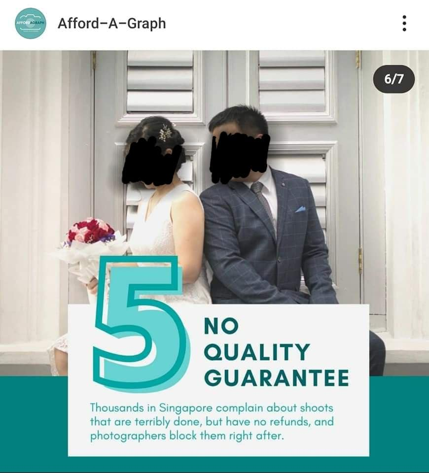 photo-5 S'pore photography service asks followers not to engage freelancers, backlash ensues - Mothership.SG