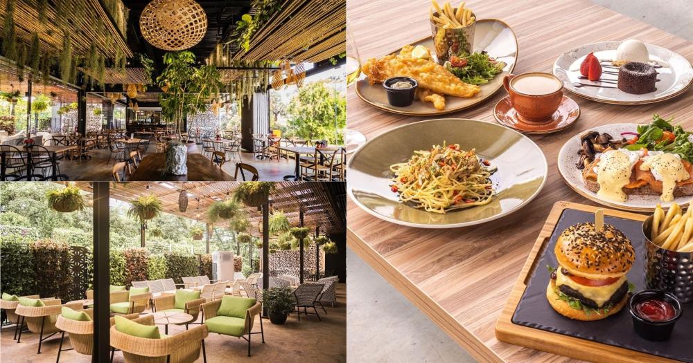 Pet-friendly, garden-themed cafe at HortPark has alfresco dining area & all-day brunch menu