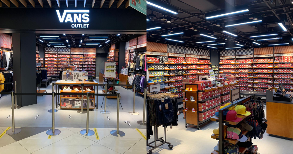 Vans S'pore open first outlet store at IMM with up to 50% off on ...