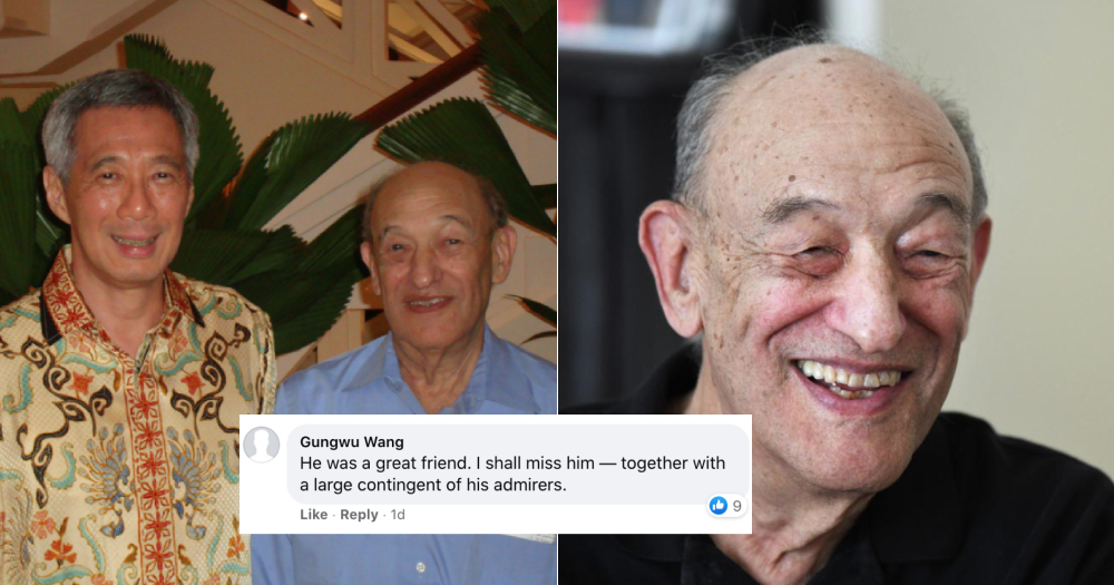 mothership.sg: Global tributes pour in for Ezra Vogel, top American scholar on China & Japan who died at 90