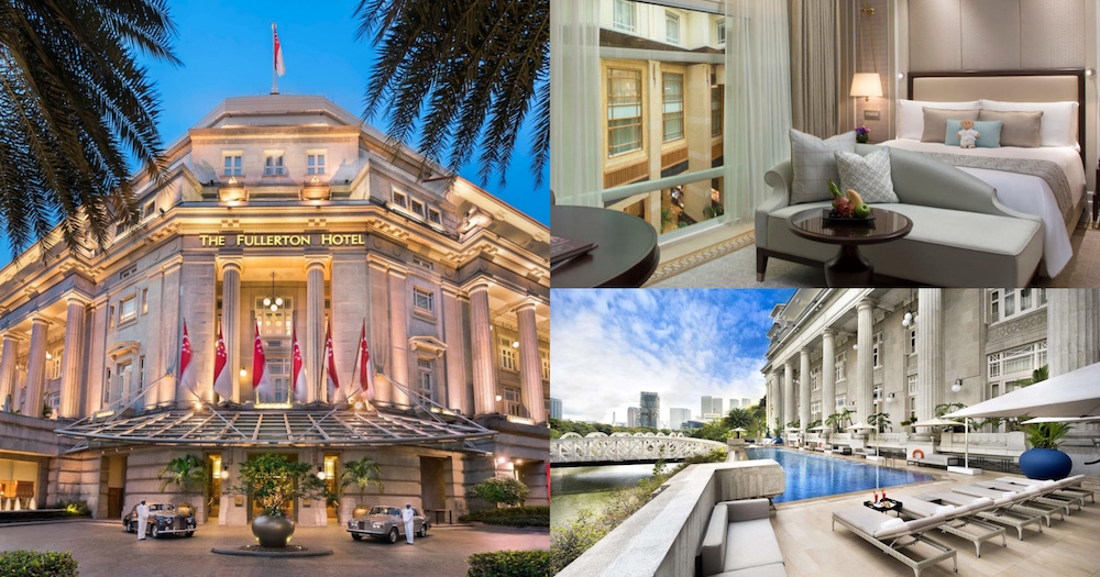 Use your  SingapoRediscovers Vouchers in Fullerton Hotel staycation and enjoy up to 50% off with S0 dining credit & free breakfast for 2