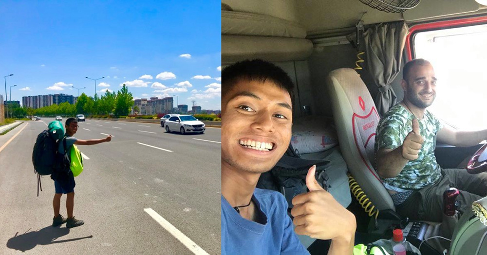 S'porean, 20, backpacked solo from S'pore to Canada on S$25/day in 9 months without getting on a plane