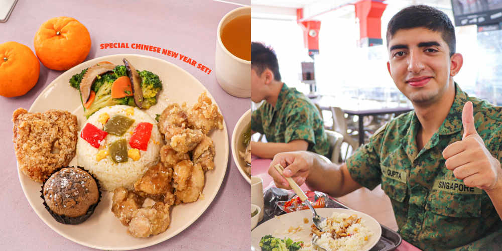 Pulau Tekong Cookhouse serves up scrumptious Chinese New Year lunch special