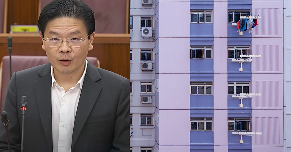 Lawrence Wong explains why additional buyer stamp duty remission don't apply to HDB owners who upgrade to private property