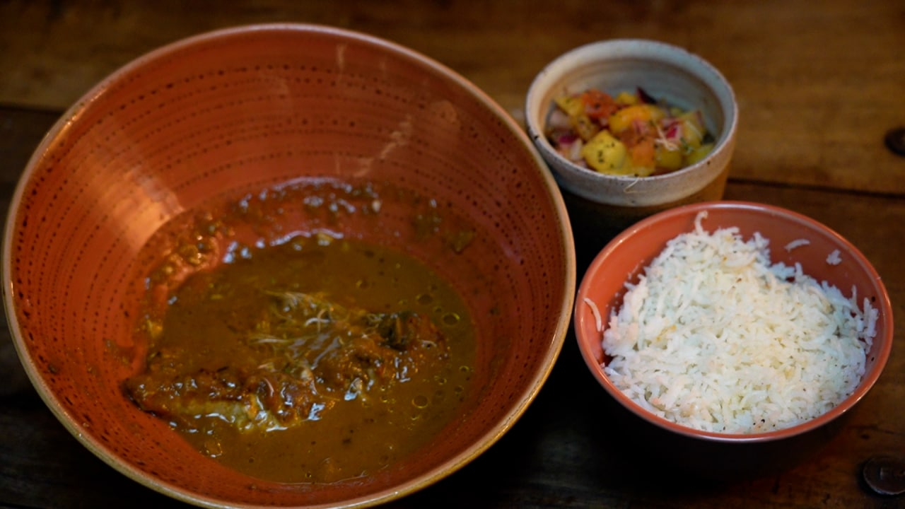 Image of the Swahili Fish Curry