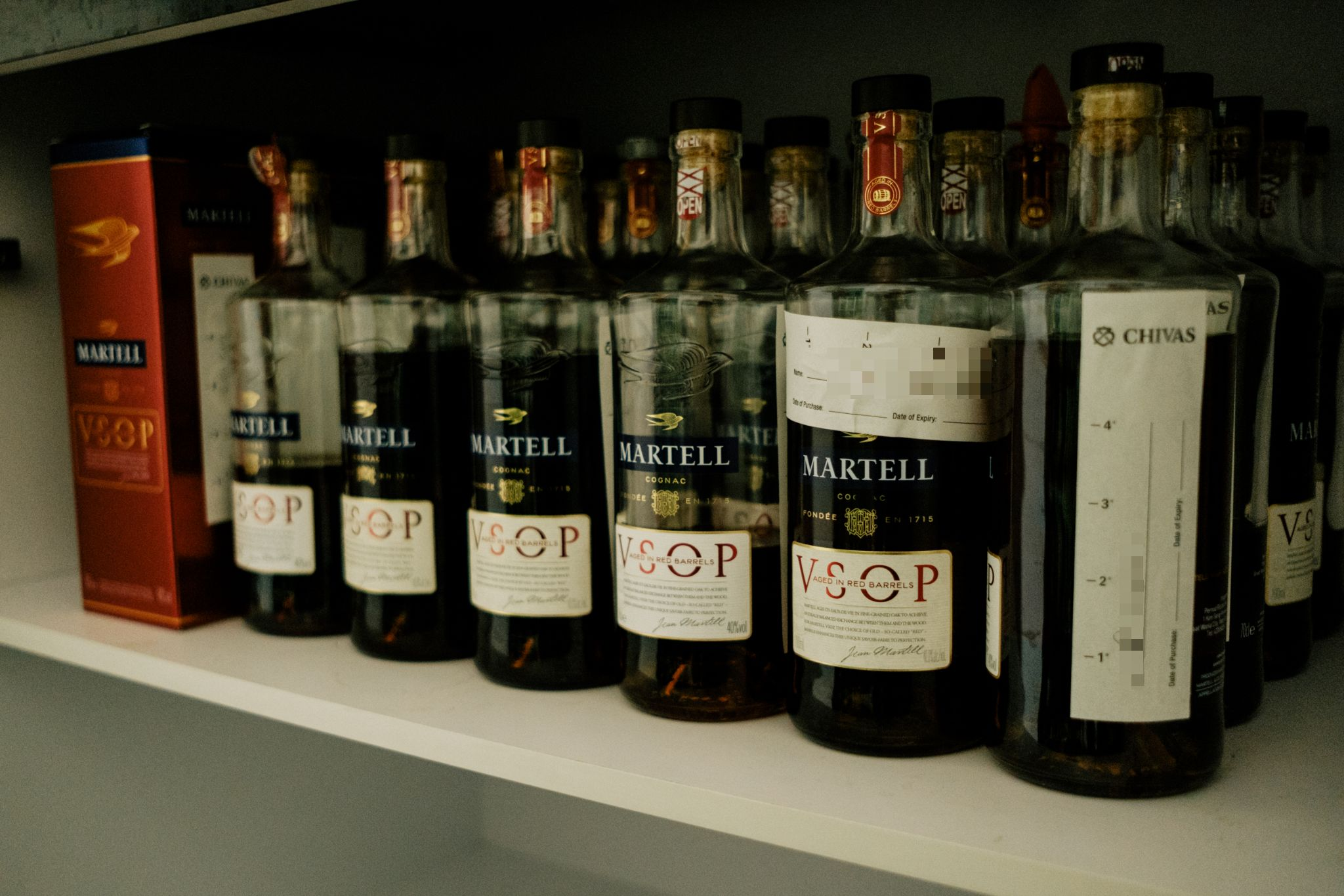 Image of bottles of liqour