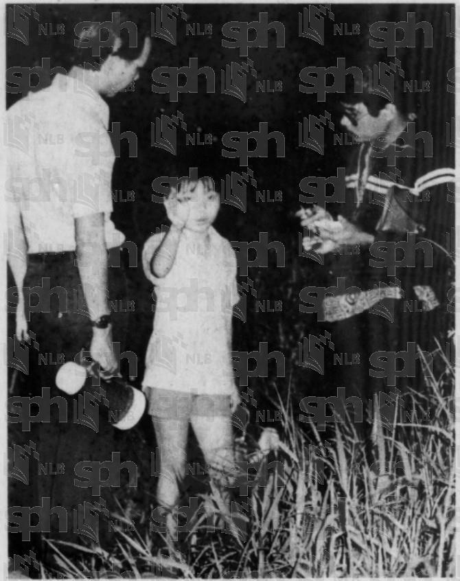 Image of Goh Leng Hai as a child
