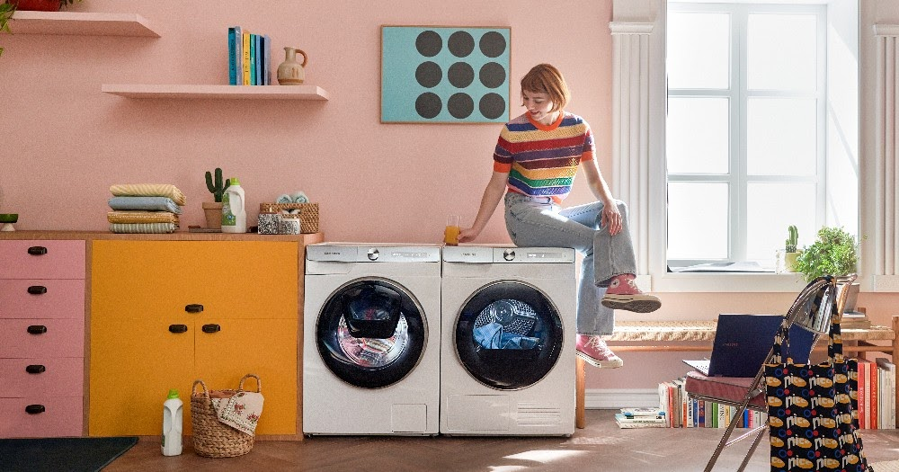 5 ways to do your laundry more efficiently with Samsung