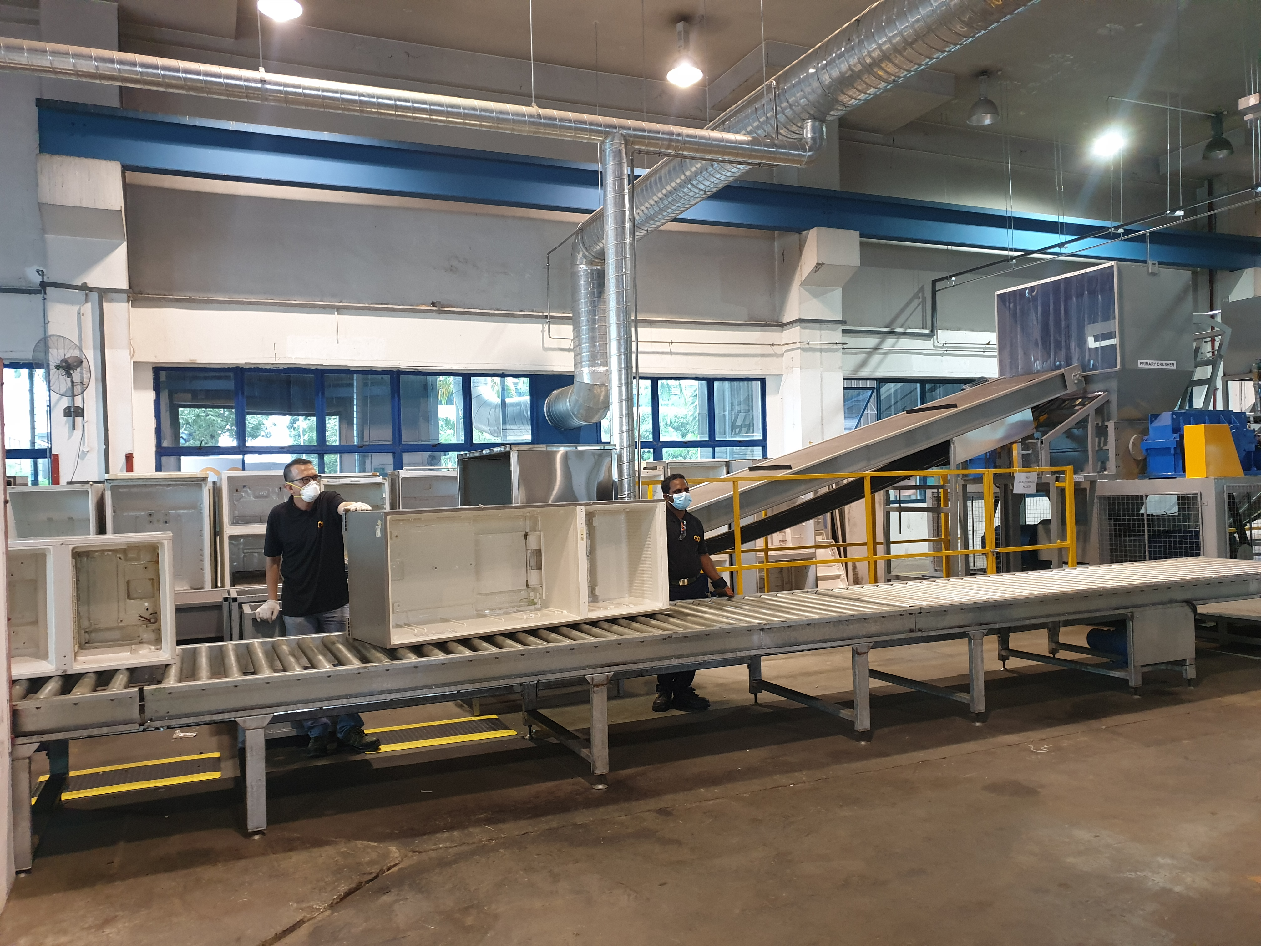 Singapore's first LHA recycling plant