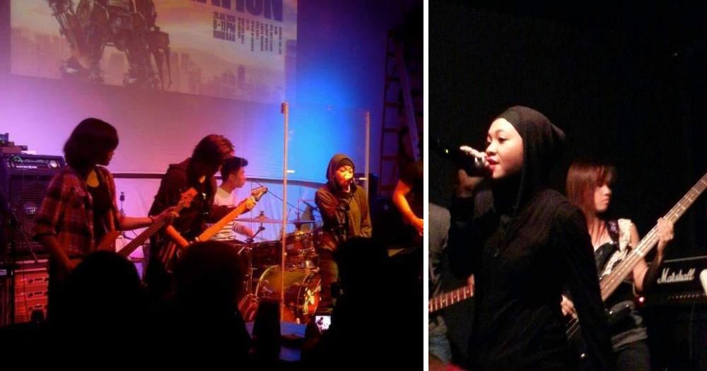 Image of Nurhayati Binte Sani performing.