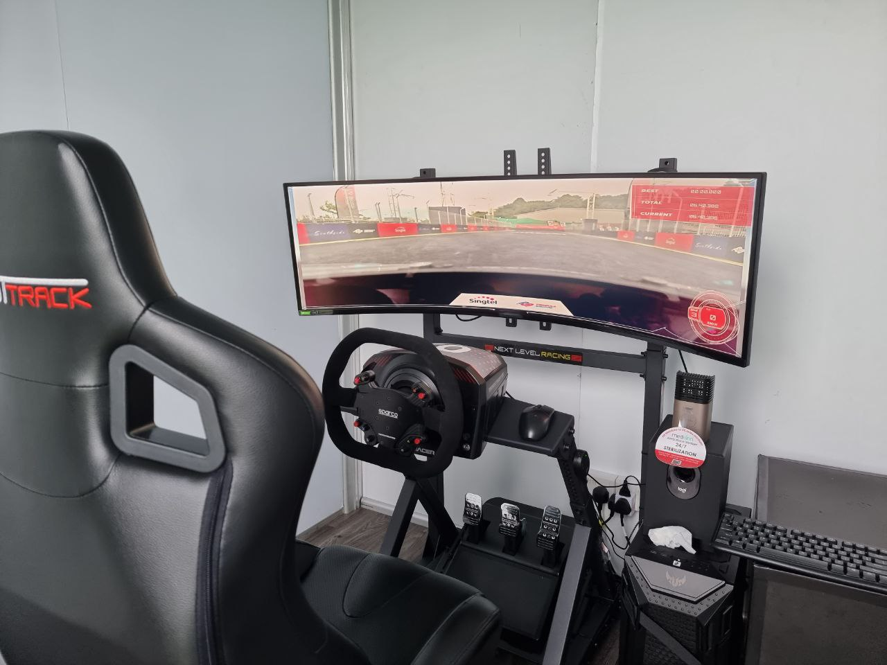 Image of the control booth